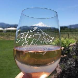 mt hood winery glass